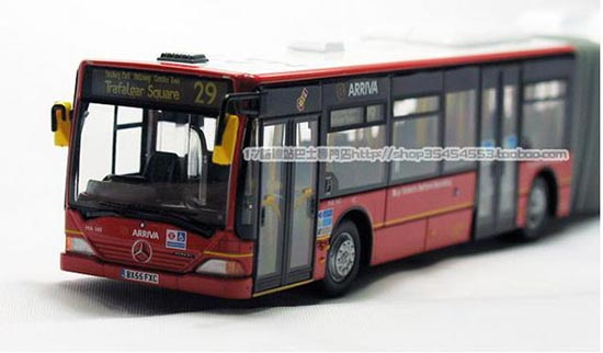 1:76 Scale Red Mercedes Benz Citaro London Bus Model
