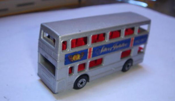 Mini Scale MATCHBOX Super Fast SF17B London Double Decker Bus