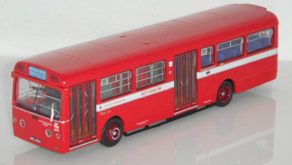 1:76 Scale NO.513 Red London Singledecker Bus Model