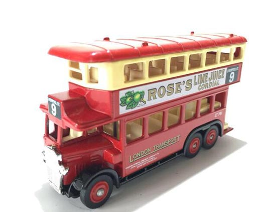 1:50 Scale Red DAYS.GONE Corgi Bus Model