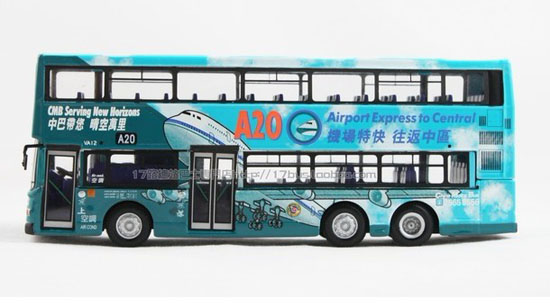 1:76 blue CORGI Hong Kong Airport NO. A20 double-decker bus
