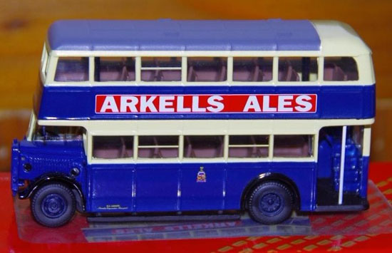 1:76 Dark Blue CORGI London ROYAL MAIL Double-Decker Bus Model