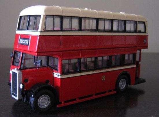 1:50 Scale Red CORGI Brand Daimler A Double-decker Bus Model
