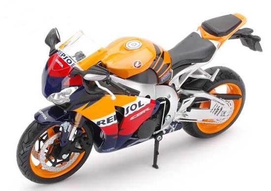 Orange / Red / Black /White 1:12 Scale HONDA CBR1000RR Motor Toy