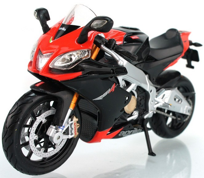 1:12 Scale Maisto Aprilia RSV4 Motor Red-black