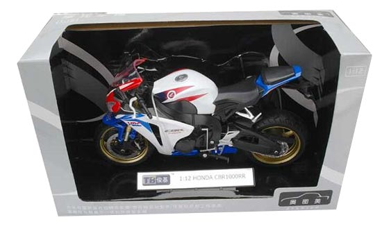 1:12 Scale HONDA CBR1000RR Motor Red /Yellow / Silver