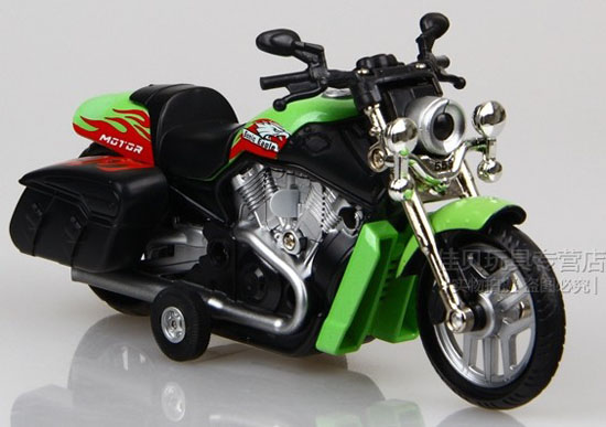 Red / Orange / Blue / Wine Red / Yellow / Green Motorcycle Toy
