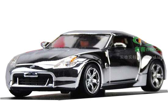 Silver 1:43 Scale J-collection Die-cast Nissan Fairlady Z