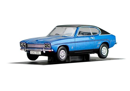 Blue 1:43 Scale CORGI Die-Cast Ford Capri Model