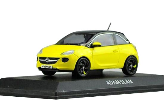 yellow wine red 1 43 scale diecast opel adam slam model. Black Bedroom Furniture Sets. Home Design Ideas