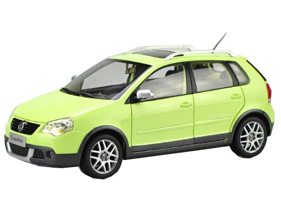 Green / Orange / Red / Blue 1:18 Scale Diecast VW POLO Model