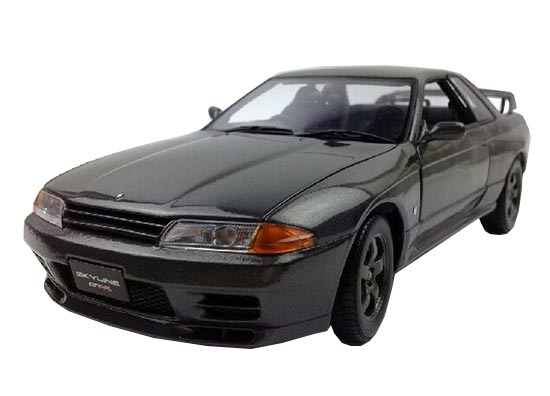 Black 1:18 Scale Kyosho Diecast Nissan Skyline GT-R R32 Model