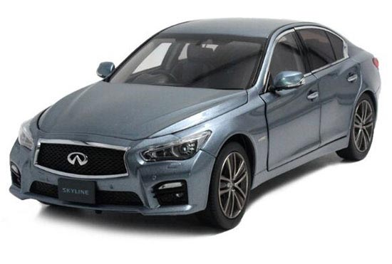 Deep Blue 1:18 Scale Diecast Infiniti SKYLINE 350GT Model