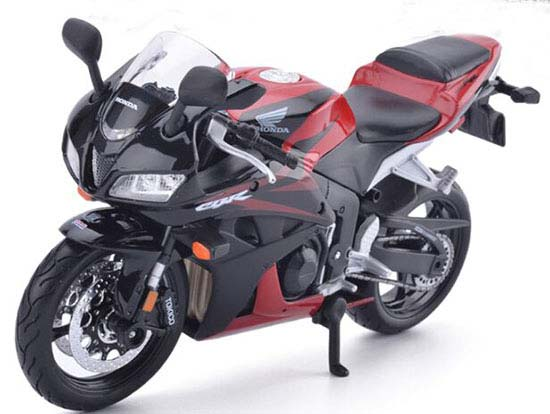 Red-Black 1:12 Maisto Die-Cast Honda CBR 600RR Motorcycle