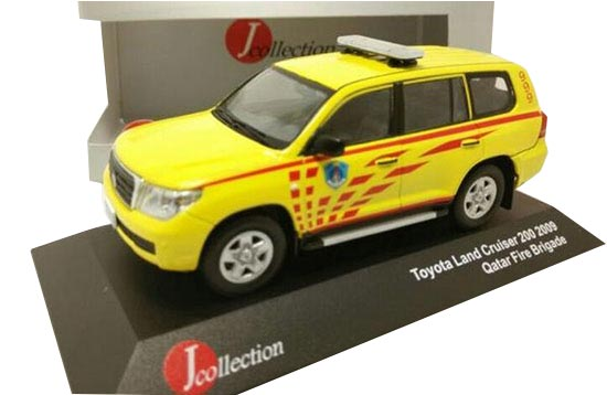 1:43 J-collection Qatar Fire Brigade 2009 Toyota Land Cruiser