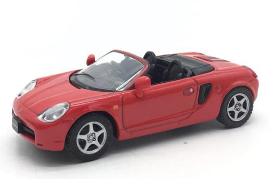 Black / White / Red / Blue 1:43 Diecast Toyota MR-2 Model
