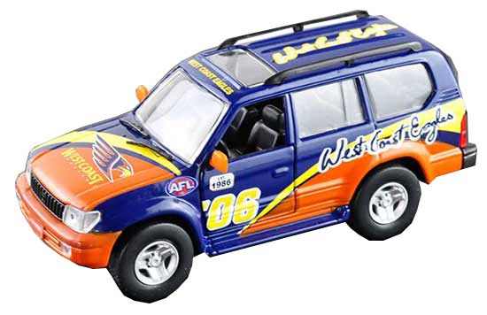 Colorful Painting HighSpeed Die-Cast Toyota Land Cruiser