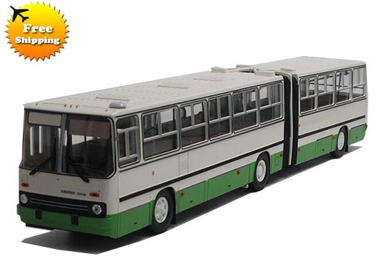 Yellow / White 1:43 Scale Die-Cast Ikarus 280 Articulated Bus