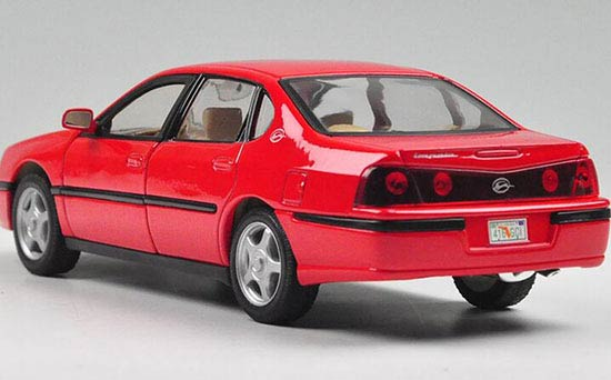 red 1 24 scale welly diecast 2001 chevrolet impala model. Black Bedroom Furniture Sets. Home Design Ideas