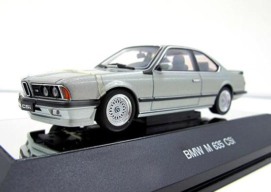 Autoart Red / Silver / Black / Golden 1:43 Diecast BMW 635 CSi