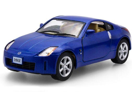 Red / Blue / Silver Kids 1:34 Scale Diecast Nissan 350Z Toy