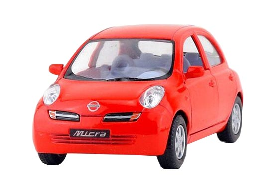 red    green    silver    orange kids diecast nissan micra toy  nb1t194    ezbustoys com