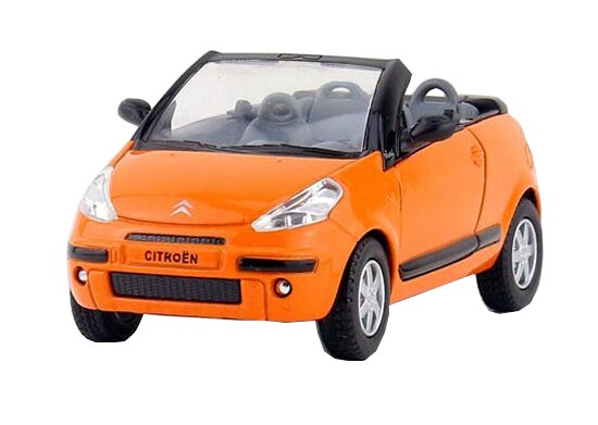 Kids 1:36 Red / Green / Black / Orange Diecast Citroen Toy