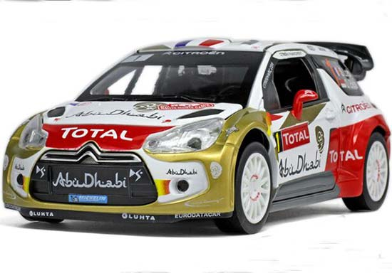 Kids NO.1 1:26 Scale Diecast 2013 WRC Citroen DS3 Toy