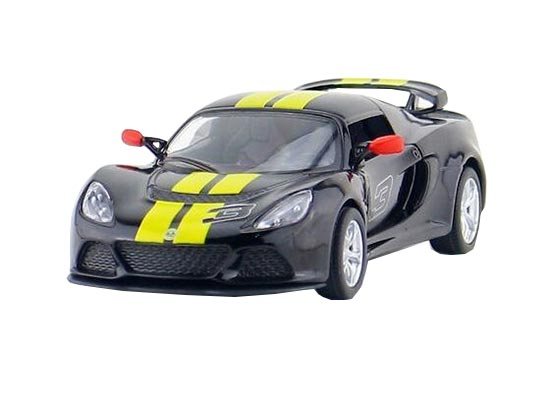 1:36 Kids Red / Black / White / Yellow Diecast Lotus Exige S