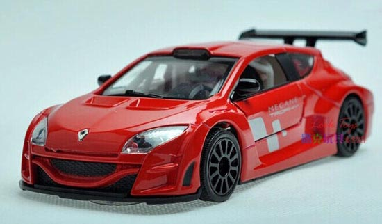 1:32 Red / Yellow /White / Blue Kids Diecast Renault Megane Toy