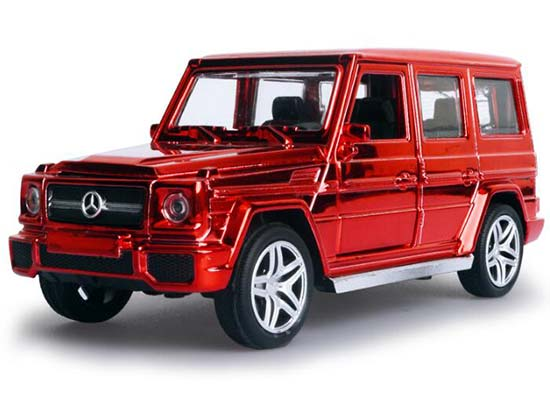 Red / Blue / Golden / Purple Diecast Mercedes-Benz G65 AMG Toy