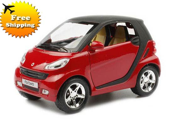 Kids 1:32 Scale Five Colors Diecast Smart Fortwo Toy