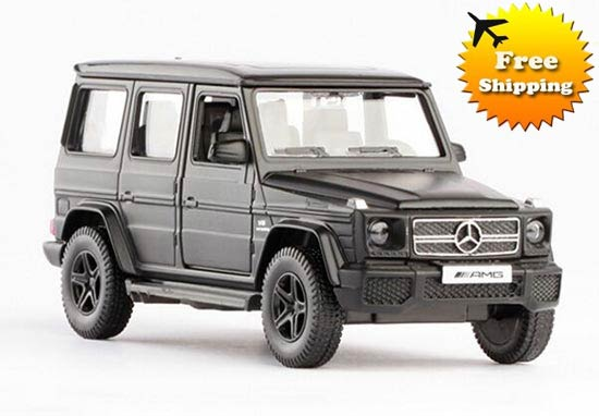 Black / White / Gray / Silver 1:36 Diecast Mercedes-Benz G63 AMG