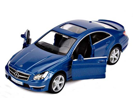 Black / White / Silver / Blue Kids Mercedes-Benz CLS 63 AMG Toy