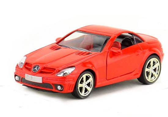 Yellow /White /Silver /Red 1:36 Diecast Mercedes-Benz SLK 55 AMG