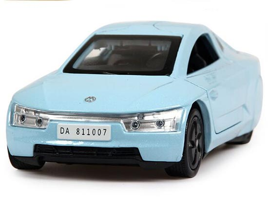Blue / Pink / Golden Kids 1:32 Scale Diecast VW XL1 Toy
