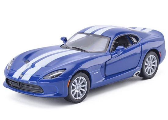 Black / Red / Blue / Yellow 1:36 Diecast Dodge Viper SRT Toy