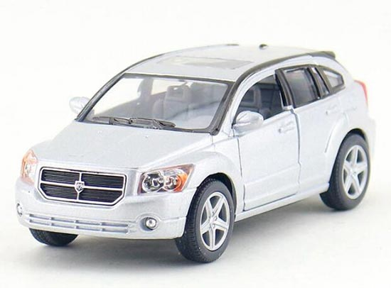 Kids 1:34 Black / Red / Blue / Silver Diecast Dodge Caliber Toy