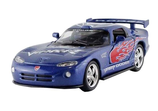 Black / Red / Blue / White 1:36 Diecast Dodge Viper GTS-R Toy