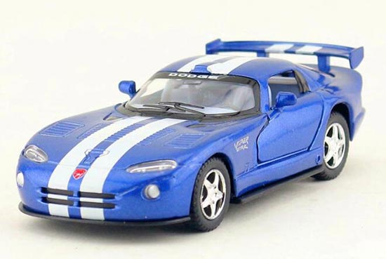 1:36 Kids Black / Red / Blue / White Diecast Dodge Viper GTS-R