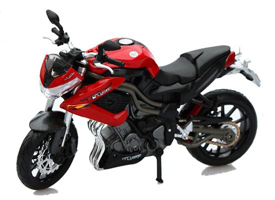 Red-Black 1:12 MaiSto Die-Cast Benelli Tornado Naked Tre R160
