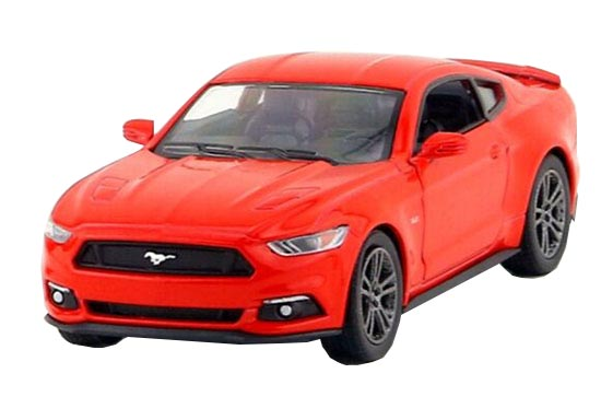 Kids 1:38 Orange / Red / Blue / Silver Diecast Ford Mustang GT
