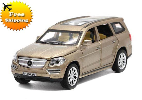 Black / Red / Blue / Champagne 1:32 Die-cast Mercedes-Benz GL500