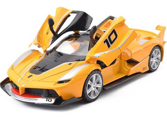 Kids Black / Red / Yellow 1:32 Die-Cast Ferrari FXX K Toy