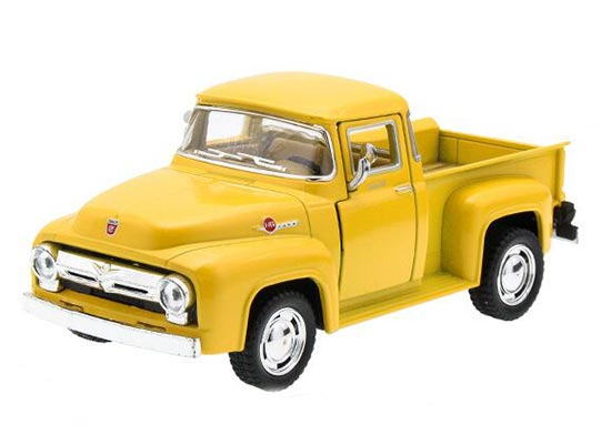 Black / Red / Yellow /White Kids 1:38 Die-cast Ford F-100 Pickup
