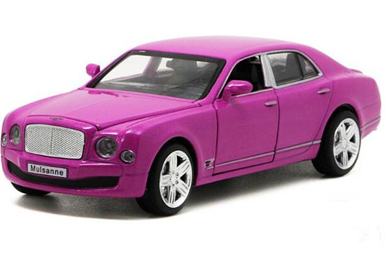 White / Golden /Blue / Purple 1:32 Diecast Bentley Mulsanne Toy