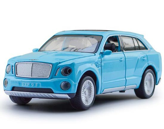 Black / Red / White / Blue 1:32 Kids Diecast Bentley EXP 9F Toy