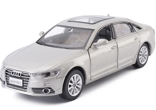 Black /White / Silver /Red Kids 1:32 Scale Diecast Audi A6L Toy