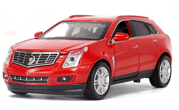Red / Champagne / White 1:32 Kids Diecast Cadillac SRX Toy