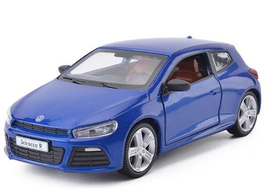 Red / Blue / Green 1:32 Scale Kids Diecast VW Scirocco R Toy